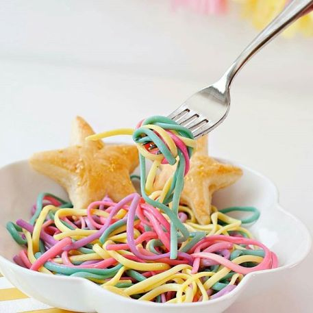 Image result for unicorn pasta
